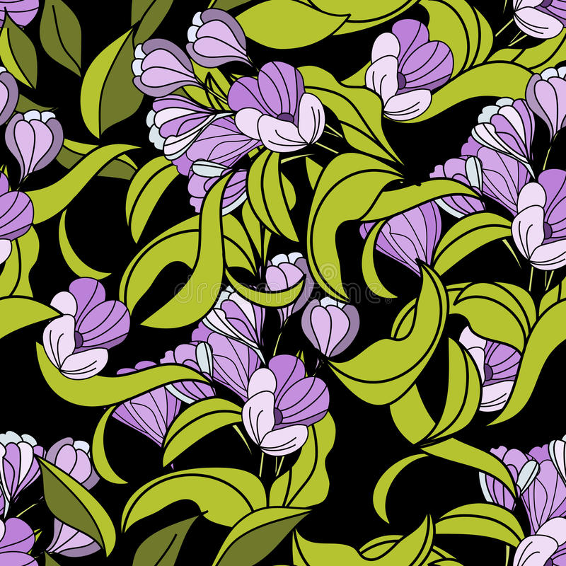 Download Seamless wallpaper stock vector. Image of seamless, pattern - 13710670