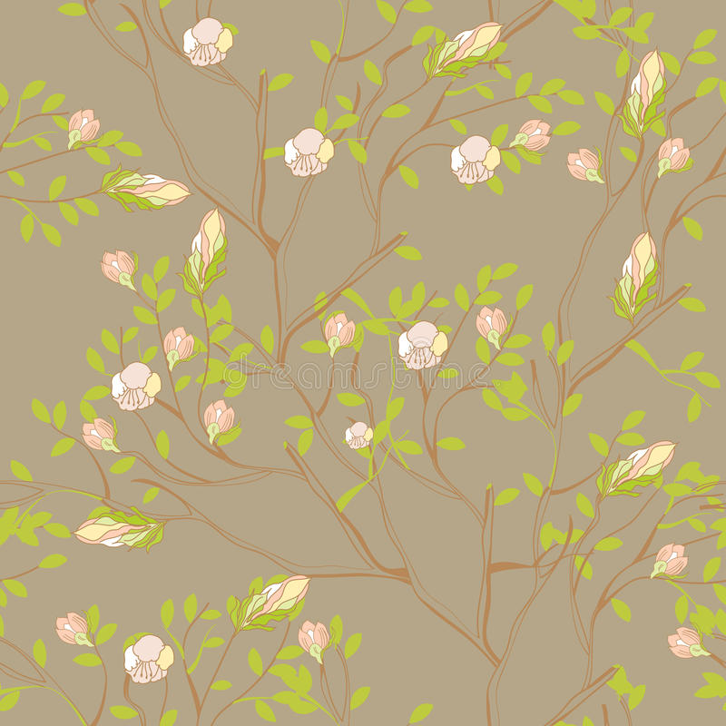seamless wallpaper stock illustrationer
