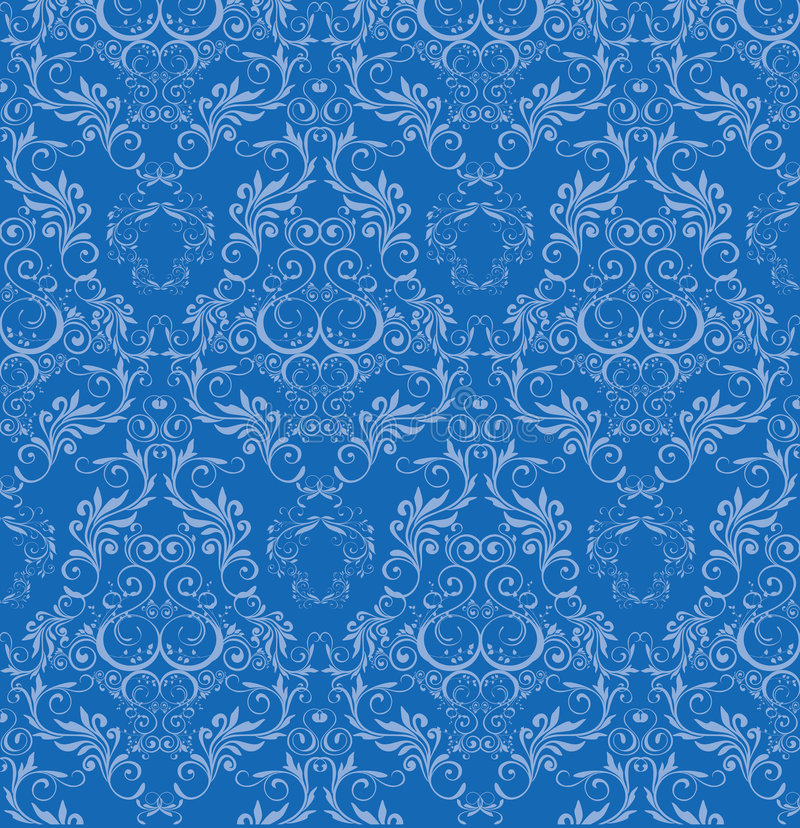 seamless wallpaper royaltyfri illustrationer
