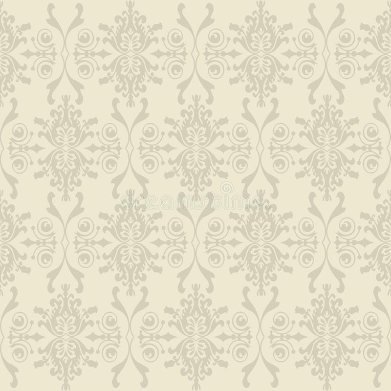 Seamless wallpaper of classic floral pattern. Beautiful Seamless wallpaper of classic floral pattern