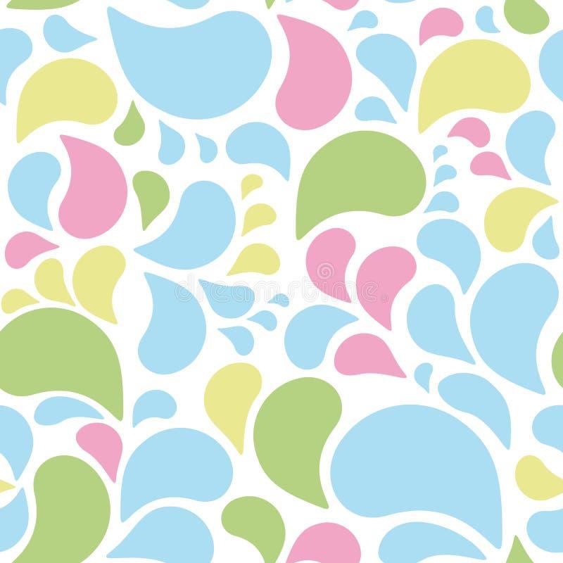 Download Seamless wallpaper design stock illustration. Image of present - 24876179