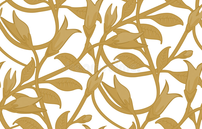 seamless wallpaper för blom- modell arkivfoto