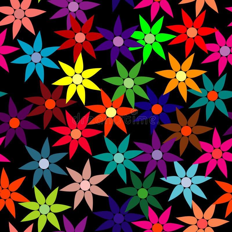 seamless wallpaper för blomma royaltyfri illustrationer