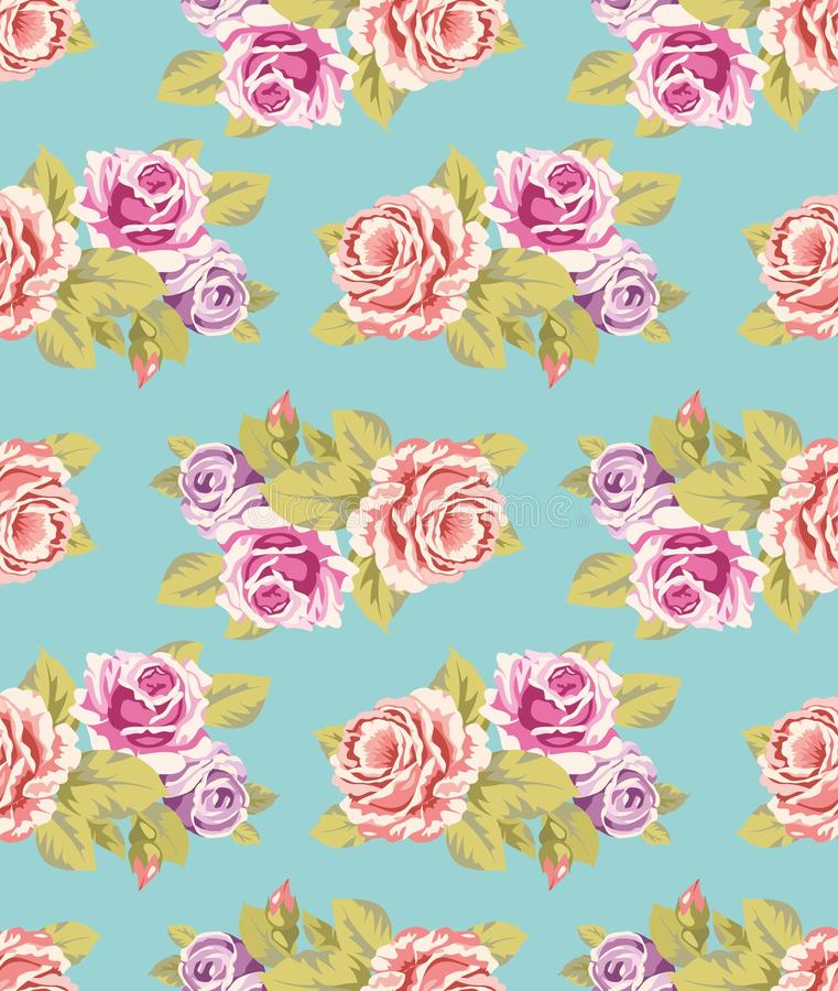 seamless wallpaper för ro royaltyfri fotografi