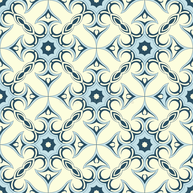 Seamless wallpaper ornament stock images