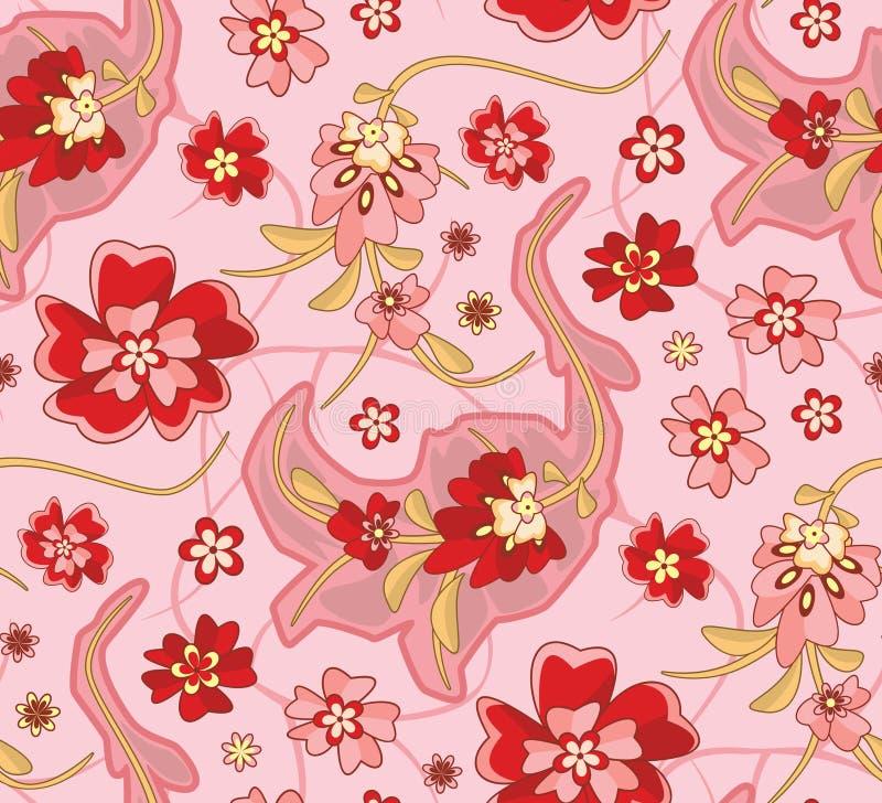 Free Seamless Wallpaper Pattern Royalty Free Stock Photography - 1585767
