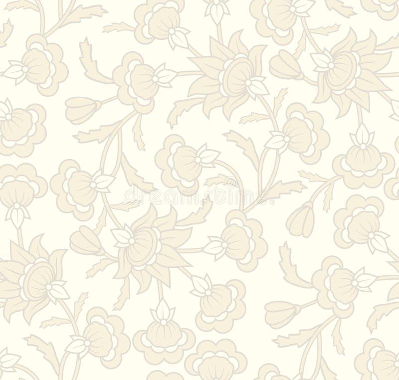 Seamless Wallpaper Pattern Royalty Free Stock Photography