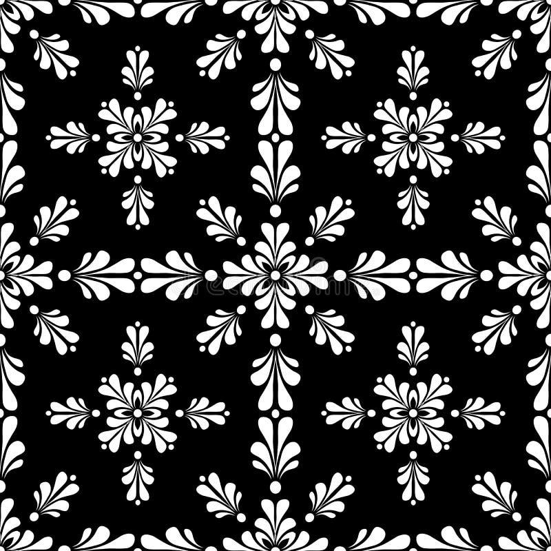 Seamless Wallpaper Tile Design Abstract Illustrati stock photo