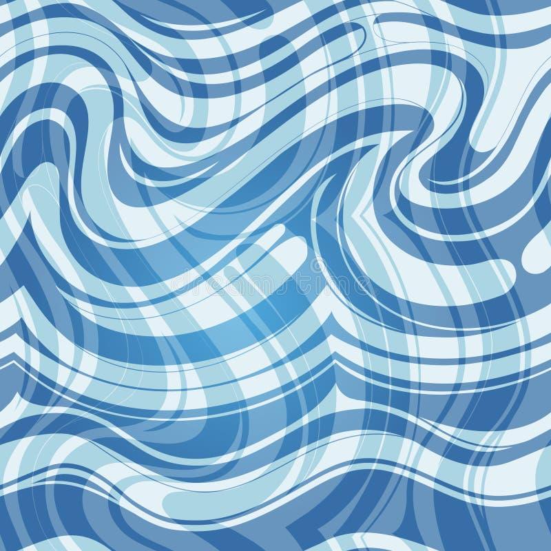Seamless water pattern stock photo