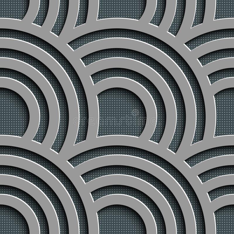 Seamless Wave Pattern vector illustration
