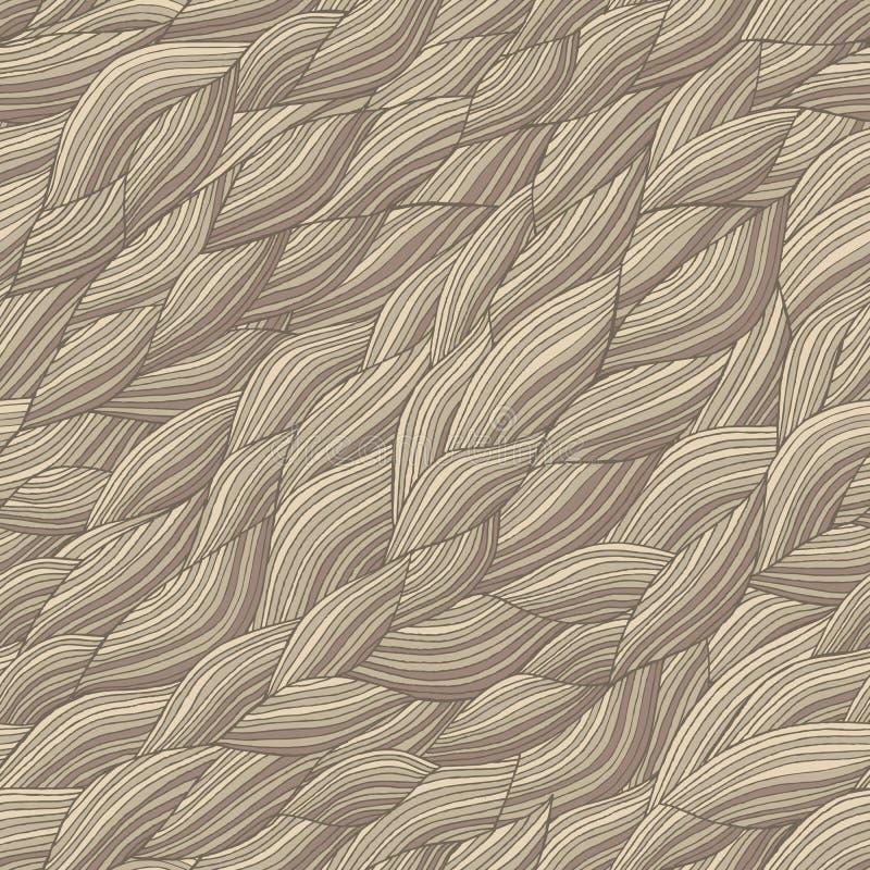 seamless waves för modell stock illustrationer