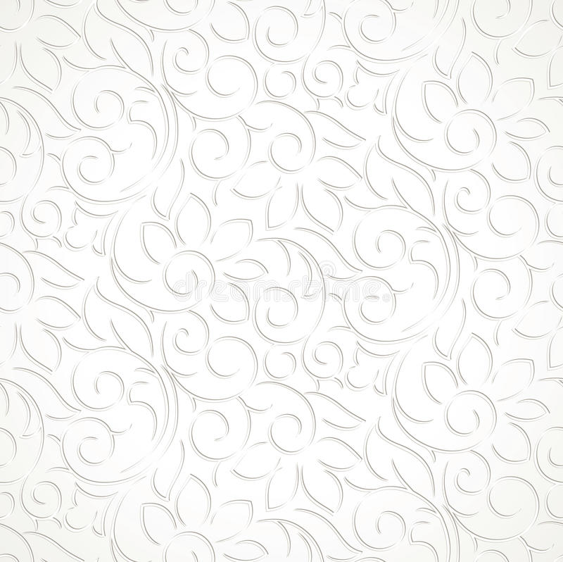 Seamless wedding card background stock images
