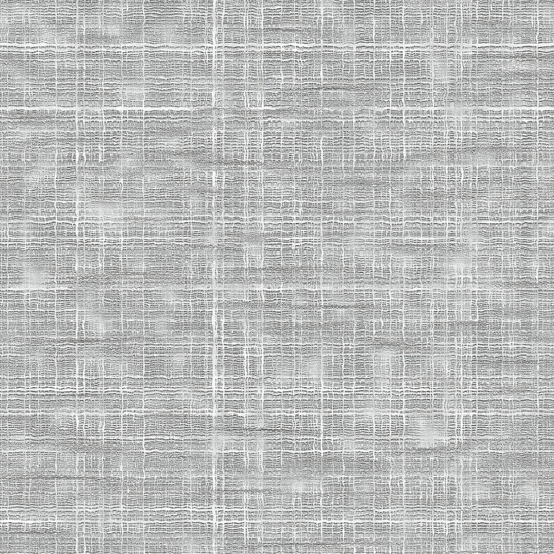Seamless white coarse fabric texture. With visible threads vector illustration