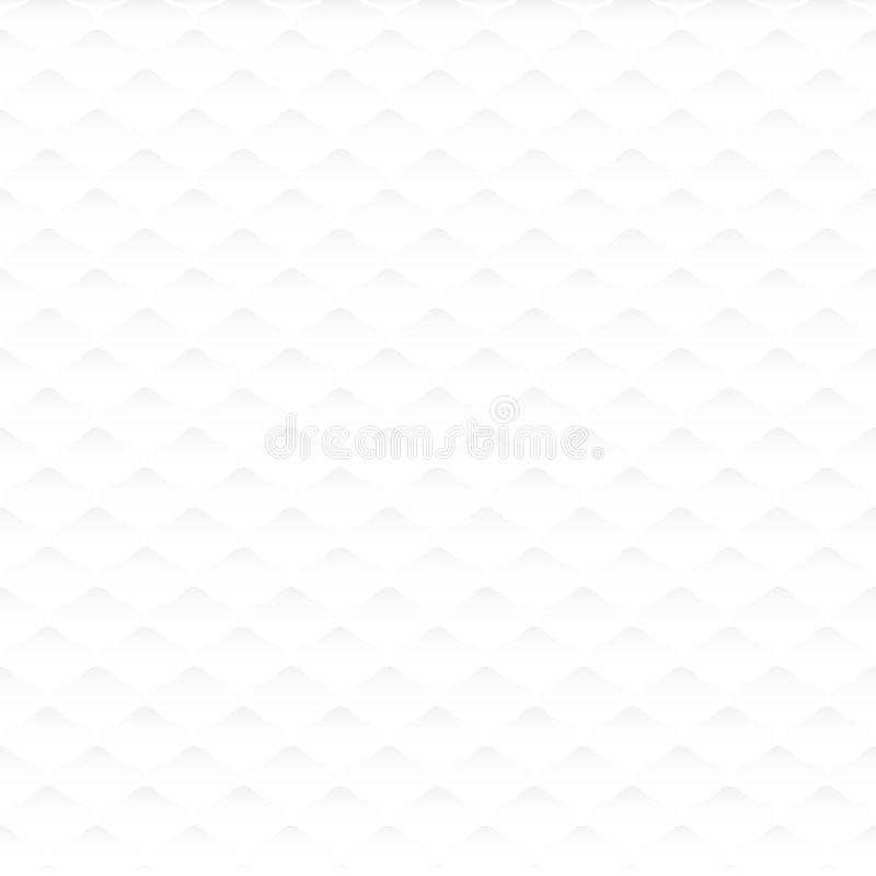 Seamless white neutral background royalty free illustration