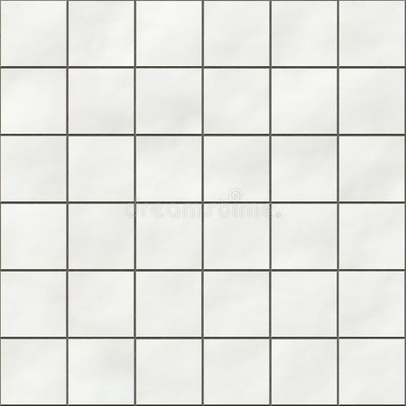 Free Seamless White Square Tiles Stock Images - 15014944