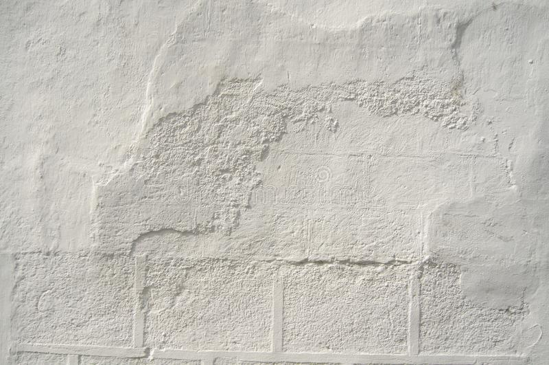 Seamless White Wall Paint Texture for Background and Overlay. Simple White Cement Wall grungy. Texture for background and design art work. Pattern texture stock photography