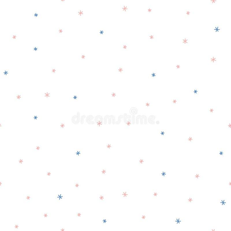 Free Seamless Winter Pattern Stock Photography - 104311592