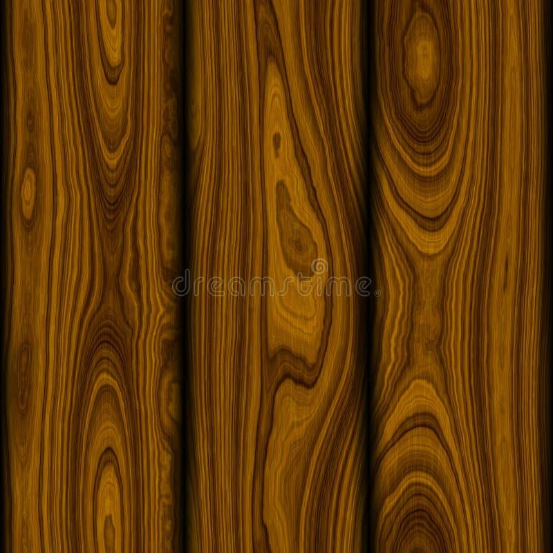 Seamless Wood BackGround royalty free illustration
