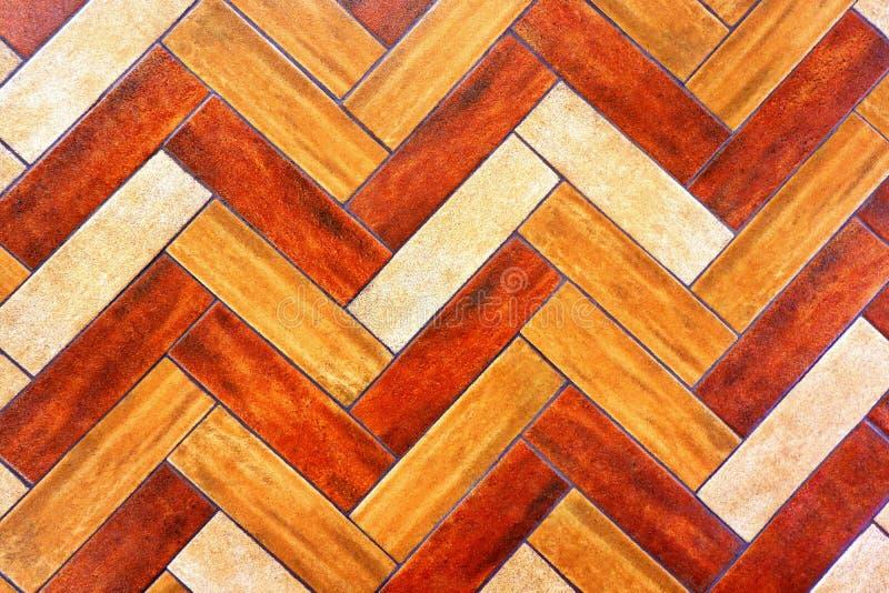 Seamless Wood Design Ceramic Floor/Wall Tiles. Top View of Seamless Wood Design Ceramic Floor / Wall Tilesn stock photos