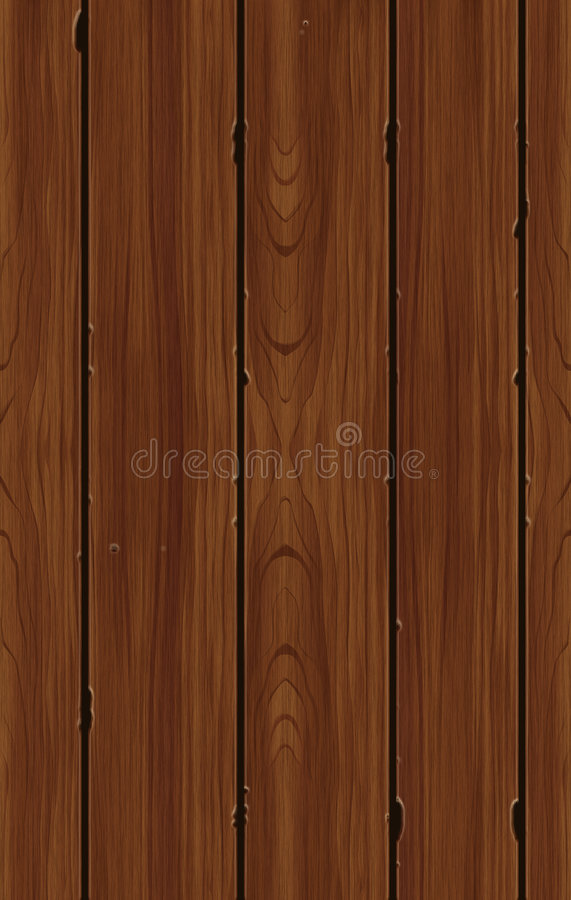 Seamless Wood Pattern Tile Royalty Free Stock Images