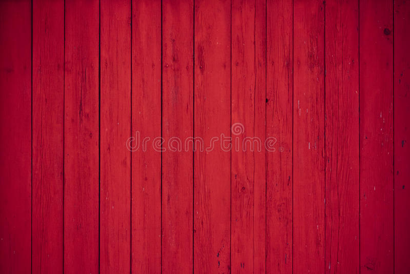 Red wooden boards background. Red wooden boards as a background stock image