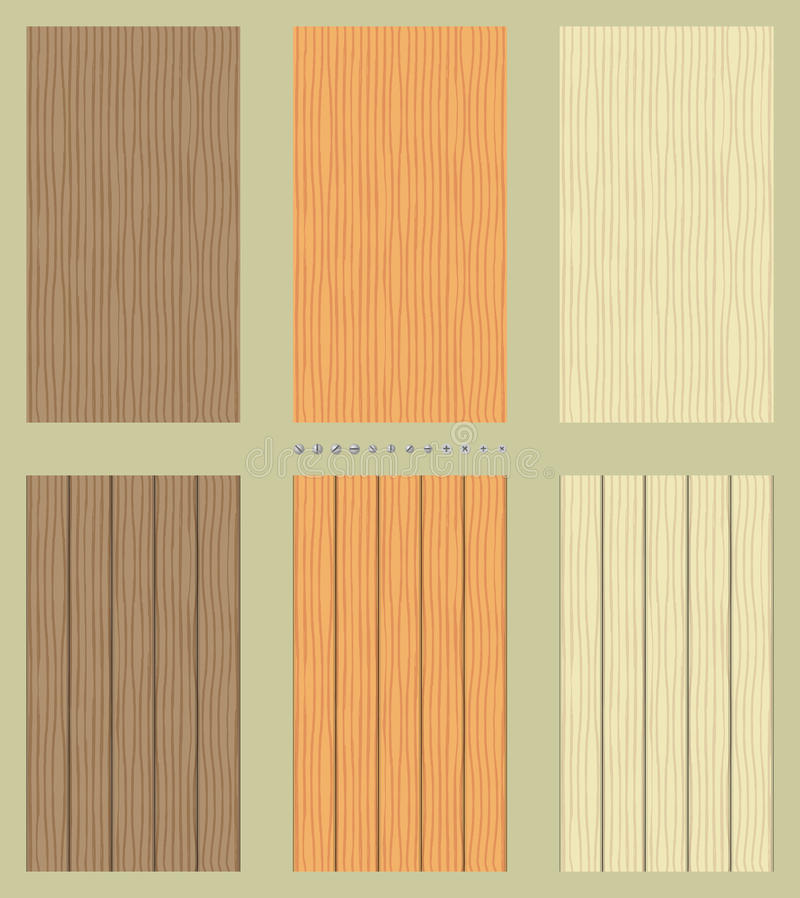 Download Seamless Wooden Backgrounds Stock Vector - Image: 25616902