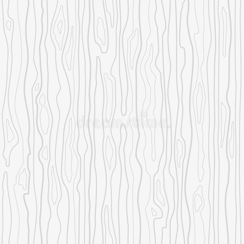 Seamless wooden pattern. Wood grain texture. Dense lines. Abstract background. royalty free illustration