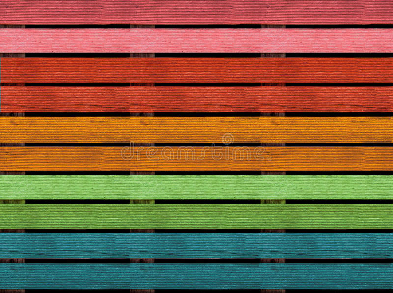 Download Seamless Wooden Texture Of Floor Or Pavement Pallet Rainbow Colors Stock Image
