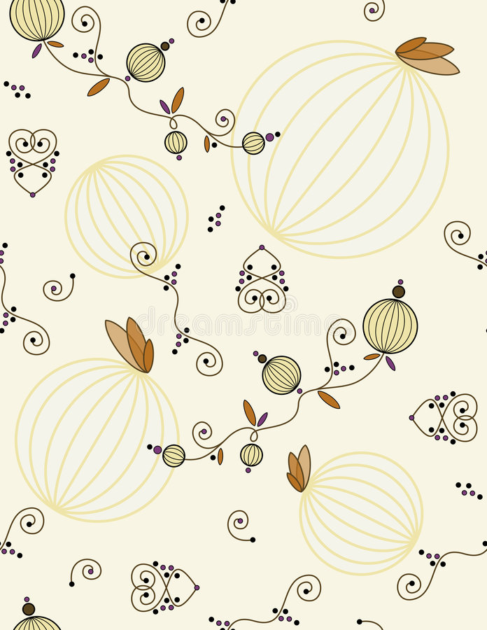 Download Seamless wrapping paper stock illustration. Image of wallpaper - 7391672