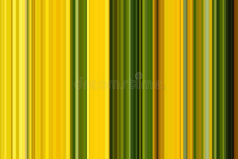 Seamless Yellow Stripe Pattern. Seamless strips pattern. Abstract illustration background. Stylish modern trend colors royalty free stock image