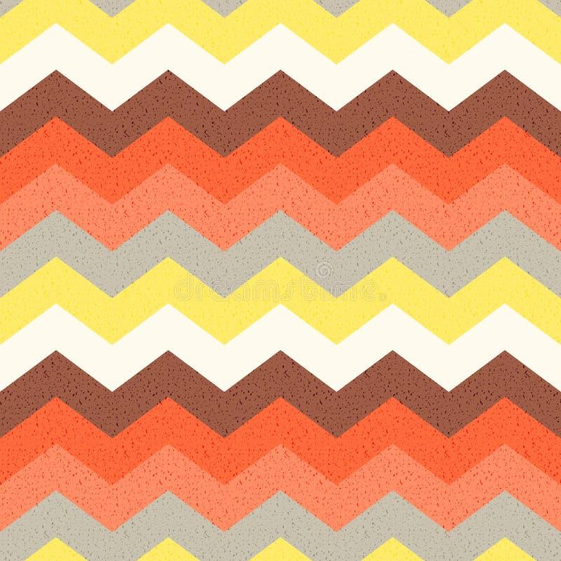 Seamless zig zag pattern stock illustration