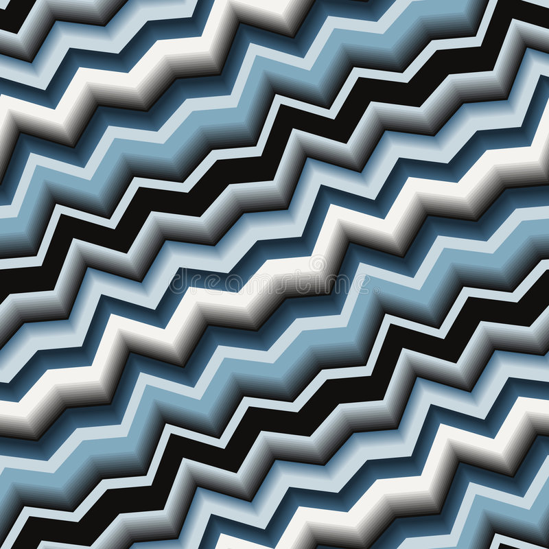Download Seamless zigzag pattern stock vector. Image of zigzag - 6532905