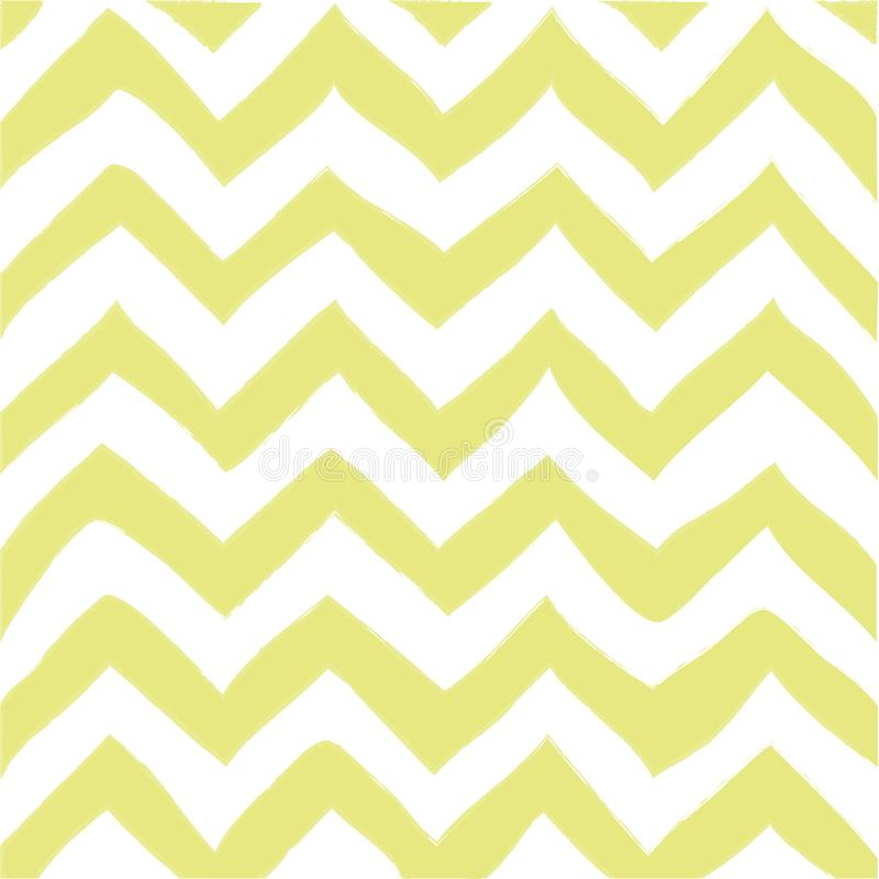 A Seamless zigzag pattern isolated on plain background. royalty free illustration
