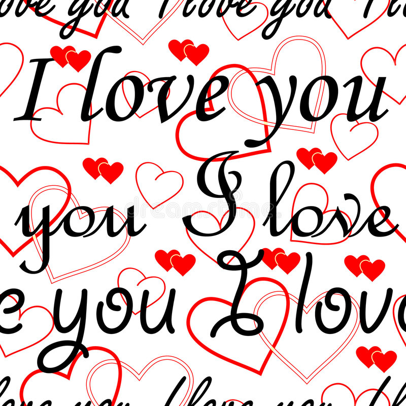 Download Seamlessly Valentine Wallpaper Stock Vector - Image: 3654275