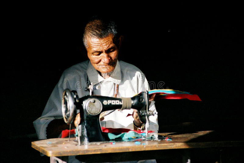 Seamster de Ladakhi image libre de droits
