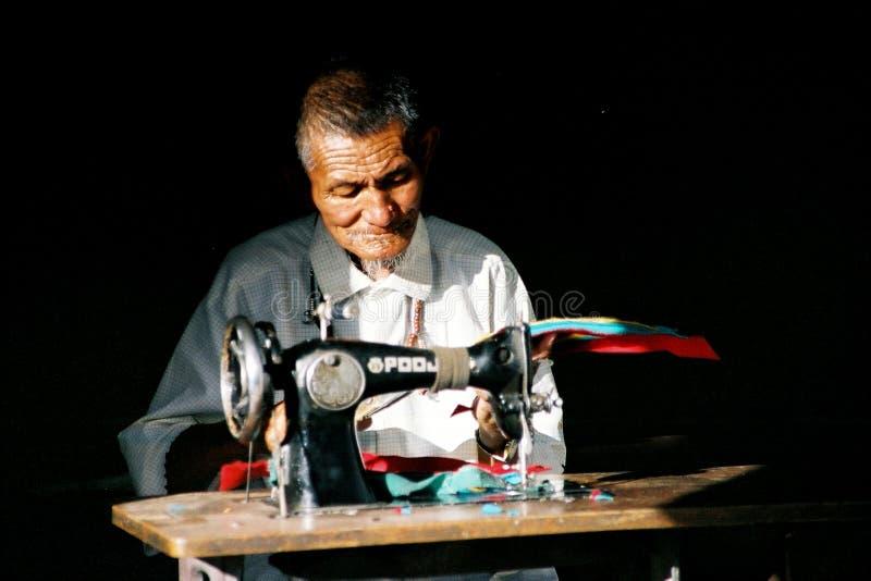 Seamster di Ladakhi immagine stock libera da diritti