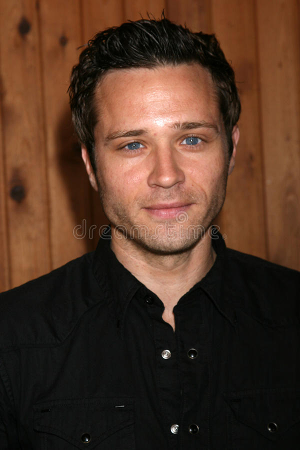 Seamus Dever. Arriving at the annual General Hospital Fan Club Luncheon at the Sportsman's Lodge in Studio City, CA on July 12, 2008 royalty free stock images