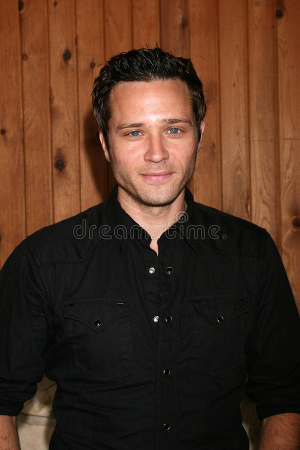 Seamus Dever. Arriving at the annual General Hospital Fan Club Luncheon at the Sportsman's Lodge in Studio City, CA on July 12, 2008 royalty free stock photography