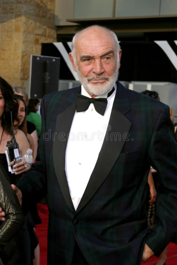 Sean Connery. AFI Salute to Al Pacino Kodak Theater Los Angeles, CA June 7, 2007 royalty free stock images