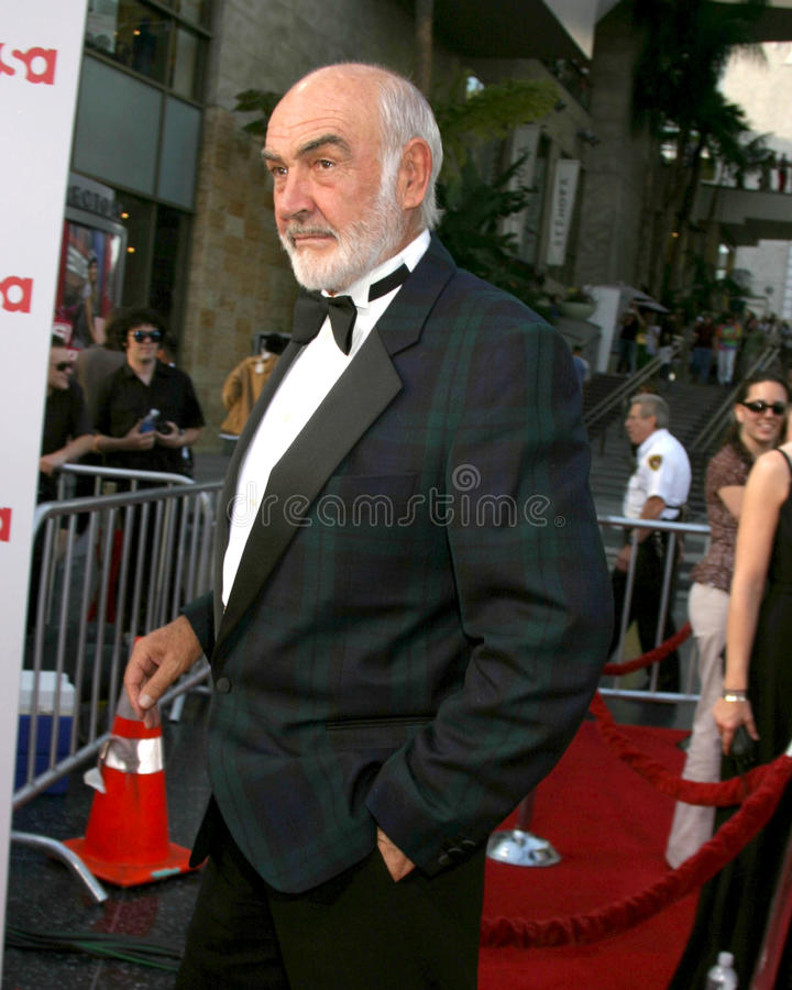 Sean Connery. AFI Salute to Al Pacino Kodak Theater Los Angeles, CA June 7, 2007 royalty free stock photos