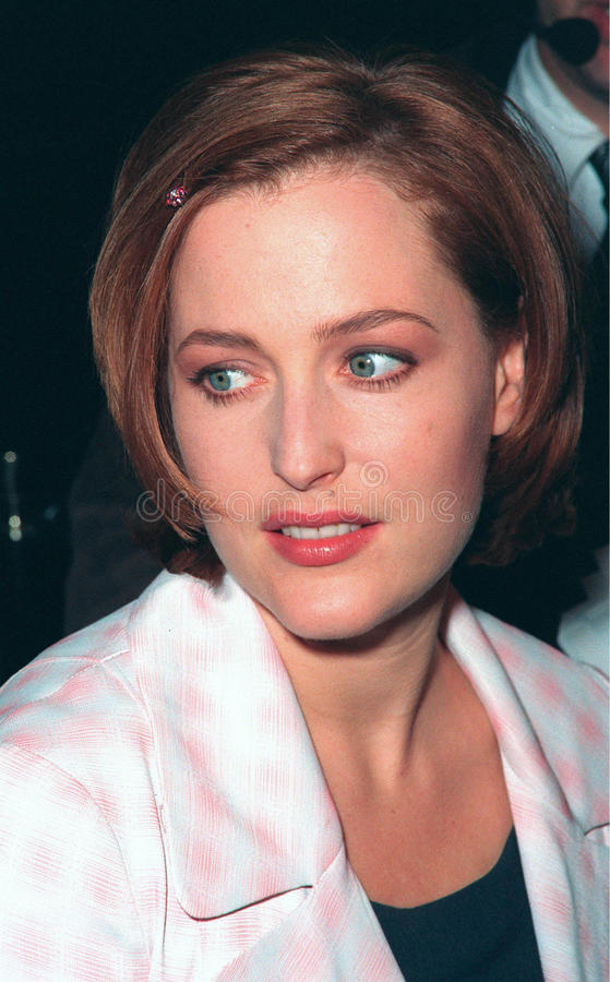 Gillian Anderson royalty free stock photos