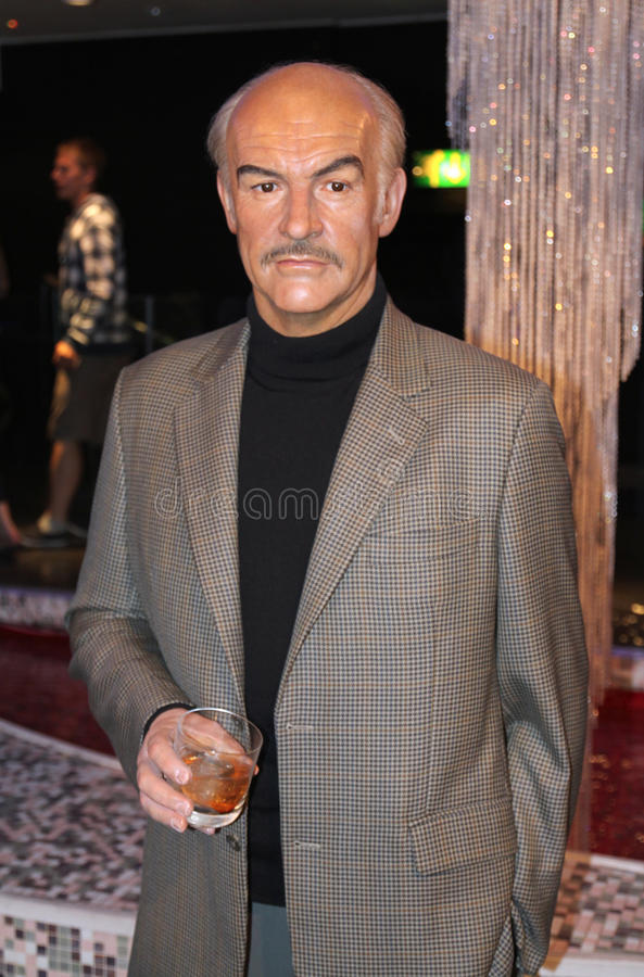 Sean Connery at Madame Tussaud's royalty free stock photography