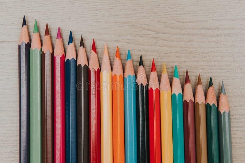 Sean kolorystyka ołówki 4 zdjęcia stock