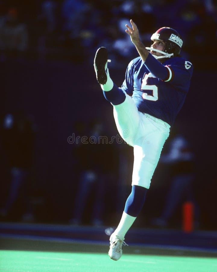 Sean Landeta. New York Giants punter Sean Landeta. Image taken from color slide royalty free stock photo