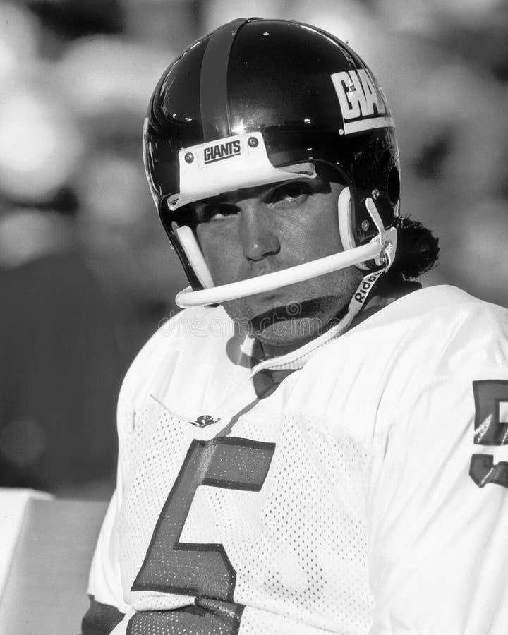 Sean Landeta. New York Giants punter Sean Landeta, #5. (Image taken from color slide royalty free stock image