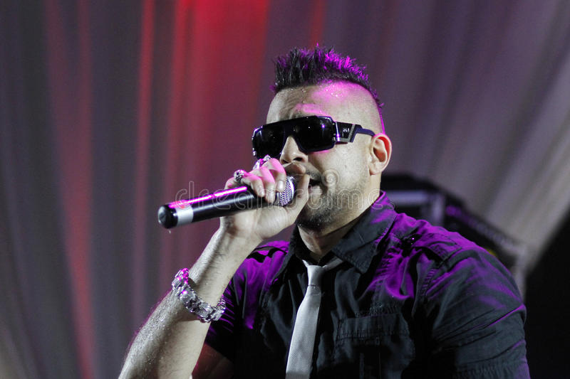 Download Sean Paul editorial stock photo. Image of sings, bucharest - 22335378
