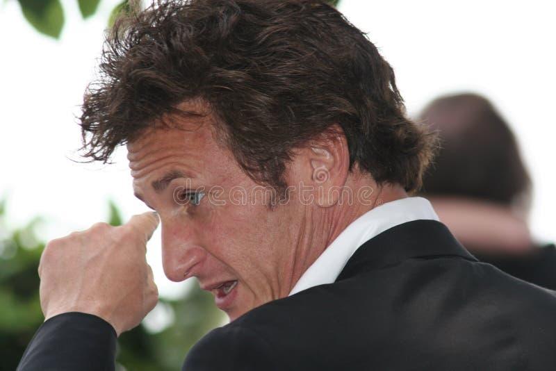 Sean Penn royalty-vrije stock afbeelding