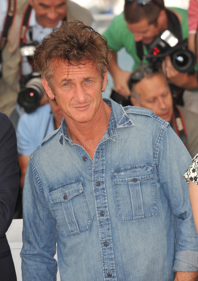 Sean Penn arkivbilder