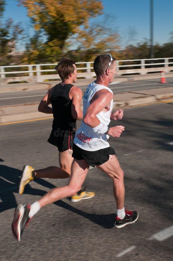 Download Sean Wade & Adam Bohach 2010 Twin Cities Marathon Editorial Photo - Image: 17240886
