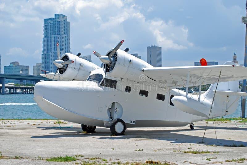Seaplane imagem de stock